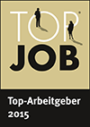 Top Job Siegel Top-Arbeitgeber 2015